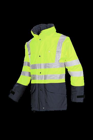 Brighton Hi-vis rain jacket