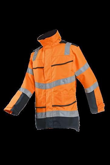 Sioen Bowman Hi-Vis Winter Rain Jacket