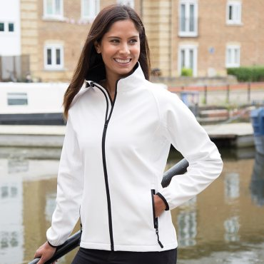 Women's Core Printable Softshell Jacket